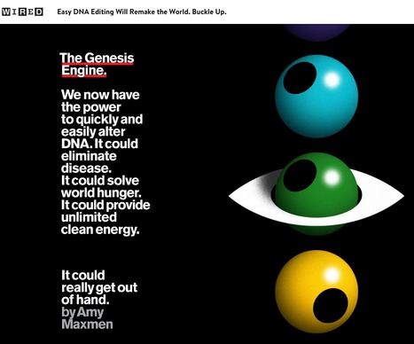 The Genesis Engine: Can we eliminate disease and solve world hunger? | Amazing Science | Scoop.it