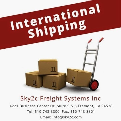 Shipping, Moving & Relocation: Worldwide Shipping Services - Sky2c   Commercial Cargo Services Fremont   Scoop.it