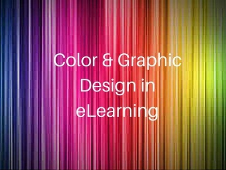 Color and Graphic Design in eLearning - ThinkingKap | elearning stuff | Scoop.it