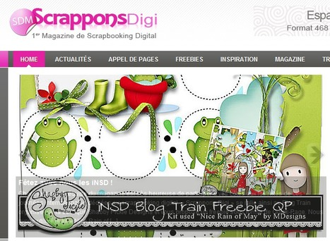 Magazine Scrappons Digi | Digiscrap | Scoop.it