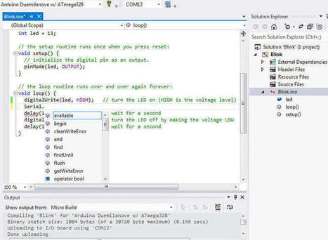 Arduino For VS 2015 - iProgrammer | Arduino, Netduino, Rasperry Pi! | Scoop.it