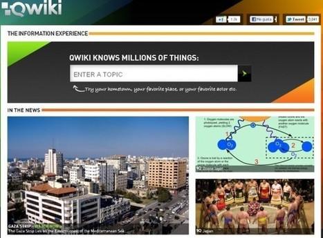 Qwiki, para visualizar y publicar rápidas presentaciones interactivas | Utilidades TIC para el aula | Scoop.it