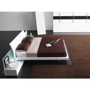 Aron - Modern White Platform Bed - Beds - Bedroom | Italian and Australan Designer Furniture at its Best | Scoop.it