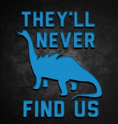 They'll Never Find Us Sticker | KccoDecals.Com | KCCO | Scoop.it