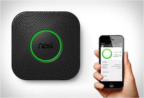 Nest Protect : le détecteur de fumée connecté Objets Connectés - CooliGadget   Objets connectés   Scoop.it