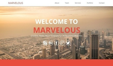 Best Muse Templates Of The Week : March 3, 2014–March 9, 2014 | Templates And Themes | Scoop.it