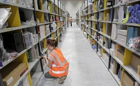 En Vidéo : visite guidée dans une plate-forme logistique d'Amazon | Logistique et Transport GLT | Scoop.it