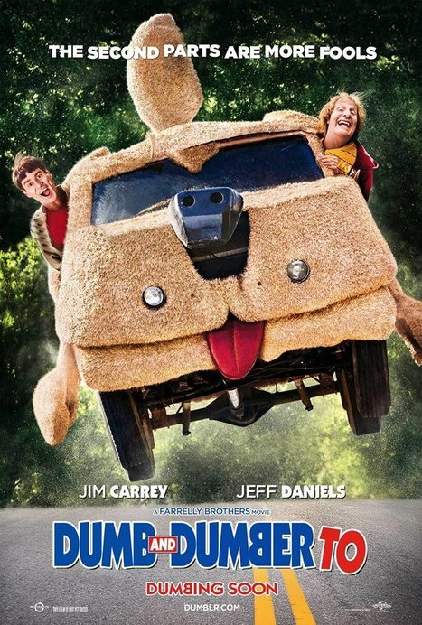 First Poster for Dumb and Dumber To! | Movie News | Scoop.it