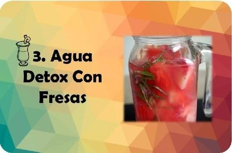 5 Deliciosas, Sanas y Refrescantes Bebidas Con Frutas | Salud y Deporte | Scoop.it