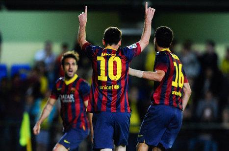 Barcelona beats Villarreal 3-2 in the Madrigal | Liga BBVA | Scoop.it