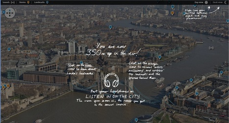 The view from the top of the Shard: London panorama of sights and sounds – interactive | Learning English Language | Scoop.it