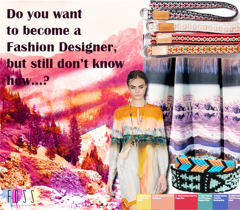 HOW TO BECOME A FASHION DESIGNER - Fashion Design Step ... | Design | Scoop.it