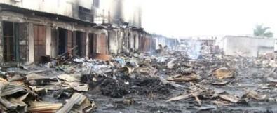 Gabon : Incendie au plus grand marché de Libreville - INfos Gabon (Communiqué de presse) | Gabon | Scoop.it