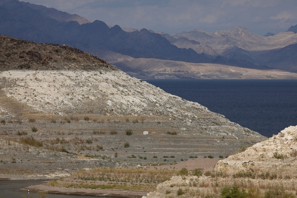 Water levels at Nevada's Lake Mead drop to new low - US News