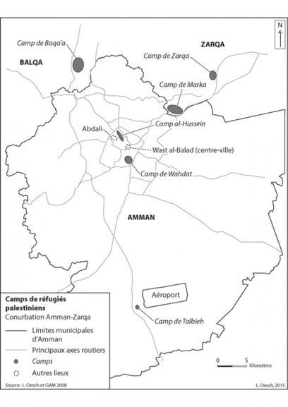 L'amélioration des conditions de vie dans les camps de réfugiés palestiniens à Amman ou la dé-théâtralisation de l'urbanisme jordanien (Articulo)   Géographie des migrations   Scoop.it