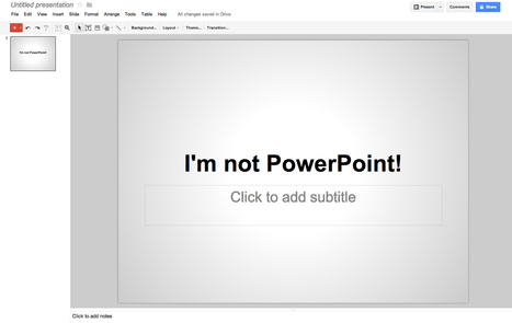 Best Free presentation Software and PowerPoint Alternative | Today's Education Technology | Scoop.it