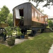 Restored Vacation Train Car in Cornwall | Small Spaces | Scoop.it