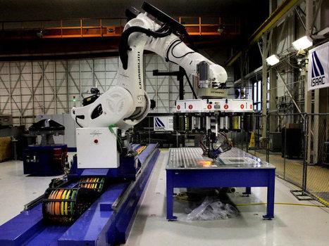 Ce robot de la NASA peut tisser des fibres de carbone | Des robots et des drones | Scoop.it