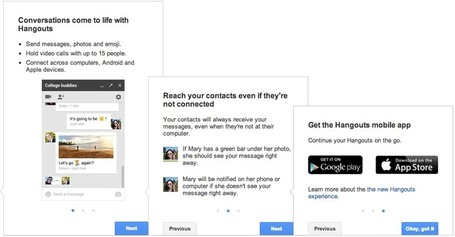 3 Questions about the New Google Hangouts - Google Gooru | iGeneration - 21st Century Education | Scoop.it