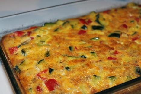Enkla och Snabba Recept: Zucchini och paprika frittata | Recept | Scoop.it
