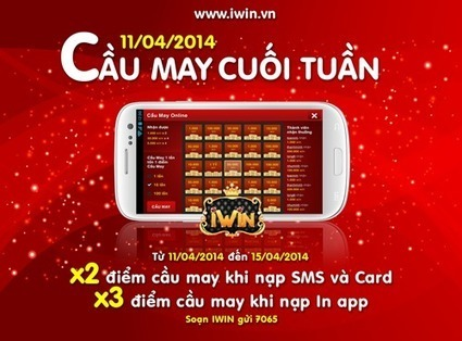Sự kiện cầu may iwin cuối tuần 11- 4 | Game mobile | Scoop.it
