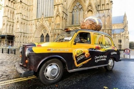 En Angleterre, Mc Cain passe la patate chaude aux taxis | streetmarketing | Scoop.it