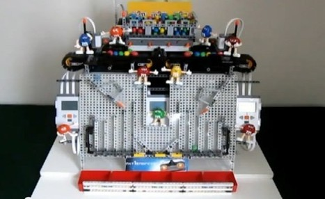 Lego-powered M&M sorter pleases your palate's imagination (video) | Robotics | Scoop.it