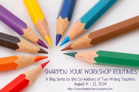 Sharpen Your Workshop Routines: Setting up the Writer's Notebook for a Year of Writing | Readers Writers Workshop | Scoop.it