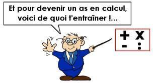 Entraînement aux calculs mentaux   Mathématiques !   Scoop.it