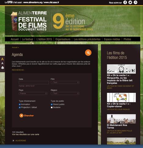 ALIMENTERRE - Festival du film: Retrouvez toutes les dates des événements (projections, animations) du festival ALIMENTERRE 2015   Le BONHEUR comme indice d'épanouissement social et économique.   Scoop.it