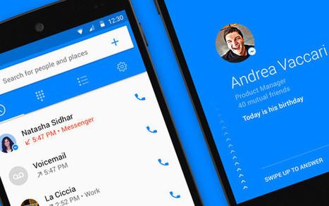 Qui m'appelle ? Facebook lance l'application Hello ! | Mobile | Scoop.it