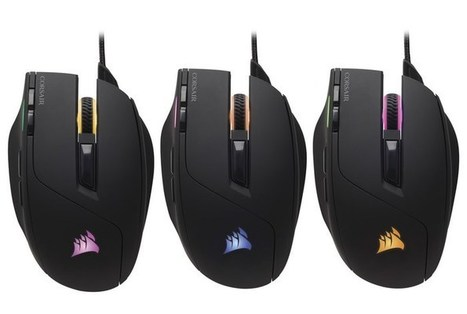 New Corsair Sabre RGB Gaming Mouse Launches For $50 - Geeky Gadgets | Gadgets & Geeks | Scoop.it