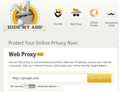 5 outils pour surfer anonymement sur le Web | Time to Learn | Scoop.it