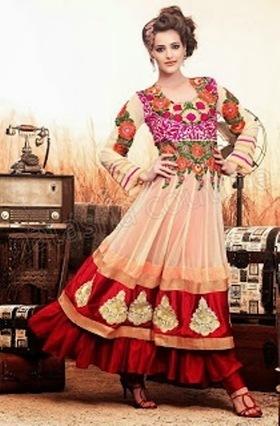 Indian Designs Anarkali Frocks By Manish Malhotra | Style Stylo | Stylestylo | Scoop.it