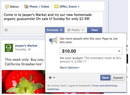 Promote Your Page Posts - Facebook Help Center | Facebook | Social Media for Optometry | Scoop.it