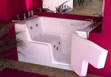 Wheelchair Accessible Walk in Tub Soake | Kitchen Bath Store | Scoop.it