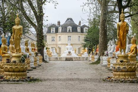 Un château bouddhiste en Seine-et-Marne | L'observateur du patrimoine | Scoop.it
