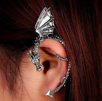 How do Dragon Cuff Earrings Attract the Eye of Everybody around You?   Online Shopping   Scoop.it