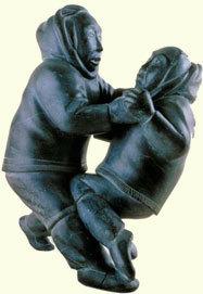 Paajartut (Wrestling) - Inuit legends - Nunavik - Northern Delights | Inuit Nunangat Stories | Scoop.it