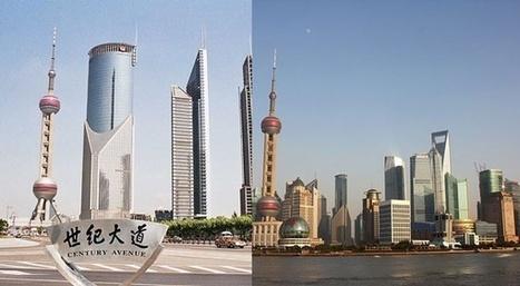 Avant/Après: les photo de ces villes transformées par leur développement | Slate | Le développement urbain en cohabitation avec le patrimoine | Scoop.it