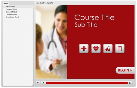 Medical Template | E-Learning Examples | Scoop.it