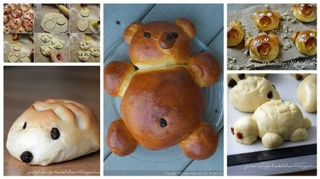 DIY Animal Bread: | Design Arena | Scoop.it