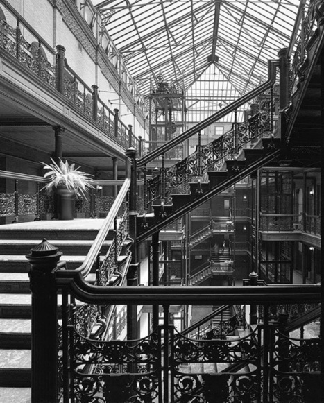 Edificio Bradbury de Los Angeles   arquiscopio - archivo   CUENTOS REALITAS   Scoop.it
