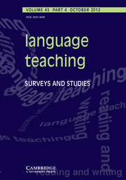 Language Teaching Vol. 45 Iss. 04 | TELT | Scoop.it