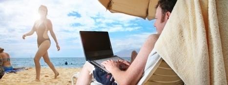 Travailler et manager pendant les vacances... est-ce bien raisonnable ? | Travailler mais pas seulement.. | Scoop.it