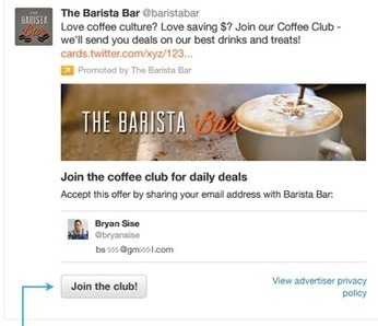 Twitter tool lets brands sign up customers inside a tweet | Public Relations & Social Media Insight | Scoop.it
