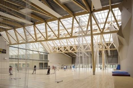 Cinq réalisations en bois se distinguent dans les Pays de la Loire - Bâtiment | Habitat et ville durables | Scoop.it