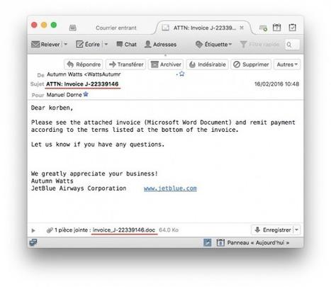 Locky : Tout ce qu'il y a à savoir sur le malware du moment | Libertés Numériques | Scoop.it