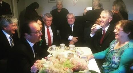 Nancy : François Hollande s'est invité chez Lucette, 69 ans. « Il n'a pas tiré la chasse d'eau dans les toilettes » | Requiem pour un con | Scoop.it