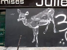 ..: heY ! sTReeT aRt * a tRibuTe tO P.bAudeLOcqUe | street art | Scoop.it
